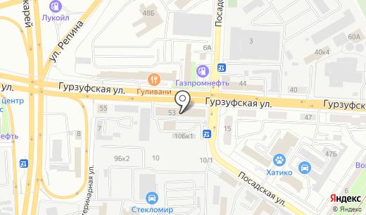 Еко-трейд. Схема проезда в Екатеринбурге