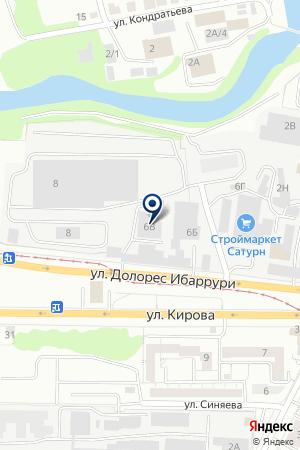 Исследовательский Центр Уралсемикондактор на карте Екатеринбурга