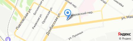 Средняя общеобразовательная школа №49 на карте Екатеринбурга