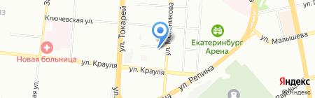АЙДИ-ИНЖИНИРИНГ на карте Екатеринбурга