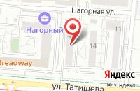 Схема проезда до компании Профессионал в Астрахани