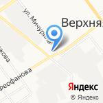 УралСнабШина на карте Верхней Пышмы