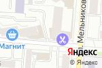 Схема проезда до компании САТТ ВЭЙ в Екатеринбурге