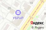 Схема проезда до компании Sidoorov в Екатеринбурге