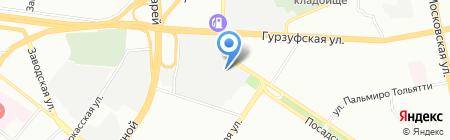 КапительПлюс на карте Екатеринбурга
