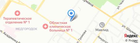 БОНИК на карте Екатеринбурга