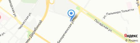 Норман на карте Екатеринбурга
