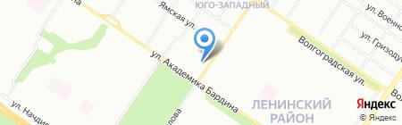 Лотос на карте Екатеринбурга
