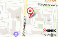 Схема проезда до компании Эс Джей в Екатеринбурге