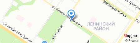 Черкашин и Партнеръ на карте Екатеринбурга