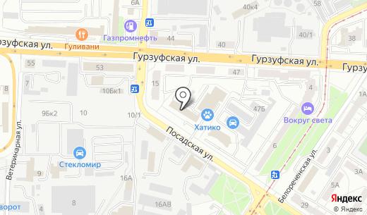 Стенд Урал. Схема проезда в Екатеринбурге