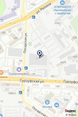 В гостях удрузей на карте Екатеринбурга
