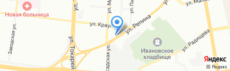 Авто-Миг на карте Екатеринбурга