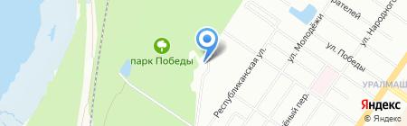 Victory Спорт на карте Екатеринбурга