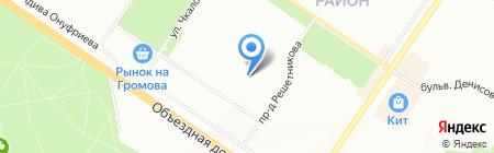 Подвальчик на карте Екатеринбурга