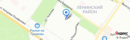 Льдинка на карте Екатеринбурга