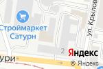 Схема проезда до компании Netuning.ru в Екатеринбурге