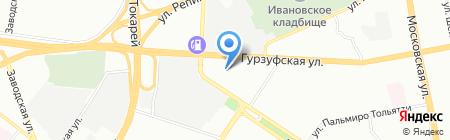 Росэнергосервис на карте Екатеринбурга