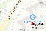Схема проезда до компании Пятерочка в Екатеринбурге