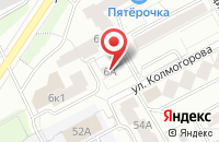 Схема проезда до компании Сладкий Шок шоколадная фабрика в Подольске
