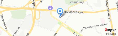 ЭБМ-Папст Урал на карте Екатеринбурга