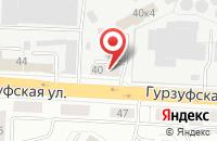 Схема проезда до компании Дизайн Меха в Екатеринбурге