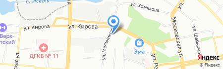 Почтовое отделение №28 на карте Екатеринбурга