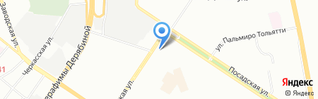 Колготки & Трикотаж на карте Екатеринбурга