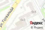 Схема проезда до компании Цветочный Дворик в Екатеринбурге