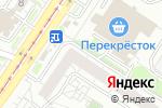 Схема проезда до компании Амадеус в Екатеринбурге