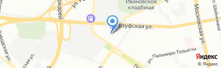 АВТО ДАЙМОНД на карте Екатеринбурга