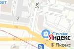 Схема проезда до компании Роса в Екатеринбурге