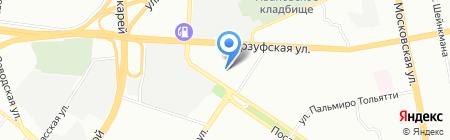Уютный дом и Компания на карте Екатеринбурга