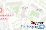 Схема проезда до компании ТЕХТРЕЙД в Екатеринбурге