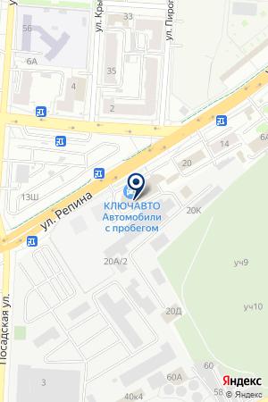 Guru Gym на карте Екатеринбурга