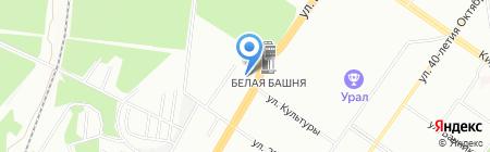 Экспедиция на карте Екатеринбурга