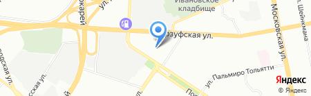Строительные материалы на карте Екатеринбурга