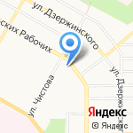 Газпром газораспределение Екатеринбург на карте Верхней Пышмы