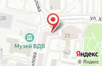 Схема проезда до компании Легран в Екатеринбурге