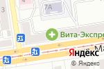 Схема проезда до компании Цветочный магазин в Екатеринбурге