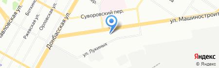Любимый дом на карте Екатеринбурга