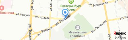 Салют.рф на карте Екатеринбурга