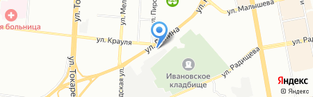 Рыболов-Спортсмен на карте Екатеринбурга