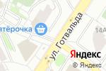 Схема проезда до компании Киоск по продаже фруктов и овощей в Екатеринбурге