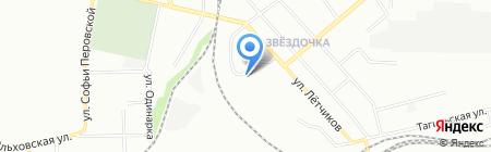 Средняя общеобразовательная школа №119 на карте Екатеринбурга