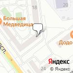 Магазин салютов Верхняя Пышма- расположение пункта самовывоза