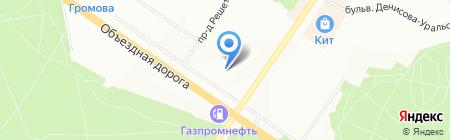 Детский сад №88 на карте Екатеринбурга
