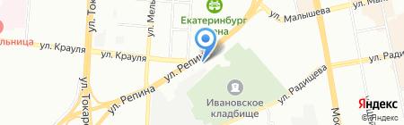 112 на карте Екатеринбурга