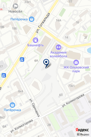 ТОРМО на карте Екатеринбурга