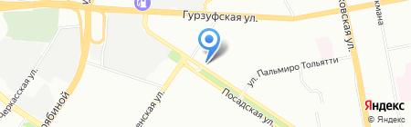 Семья на карте Екатеринбурга